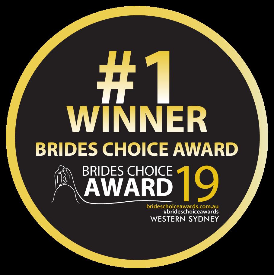 Brides Choice Awards, Winner Best MC Western Sydney, Sydney MC, Hawkesbury MC, The Hills MC, Baulkham Hills MC, Master of Ceremonies Sydney