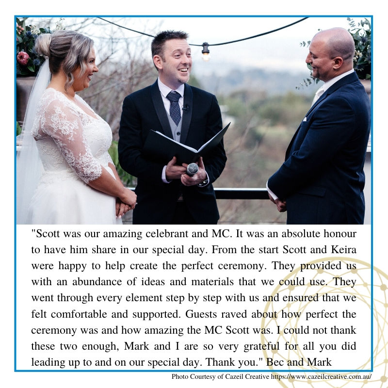 Master of Ceremonies Sydney Review, Celebrant, Sydney Celebrant, Hawkesbury Celebrant, Young Celebrant, Male Celebrant, Fun Ceremony, Customised Wedding Ceremony, Wedding Vows