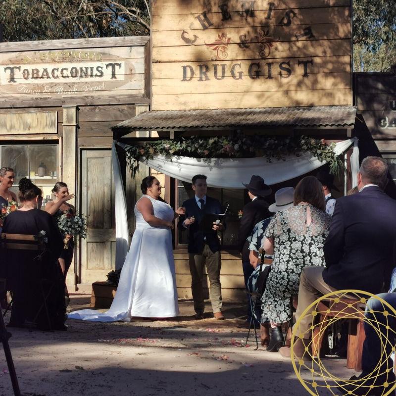 Wedding Ceremony, Outdoor Ceremony, Cowboy Ceremony, Celebrant, Wedding Celebrant, Hawkesbury Celebrant, Male Celebrant Sydney